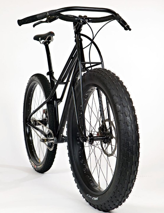 Jeff Jones's steel Spaceframe can be run singlespeed or geared, and is fat front tyre compatible