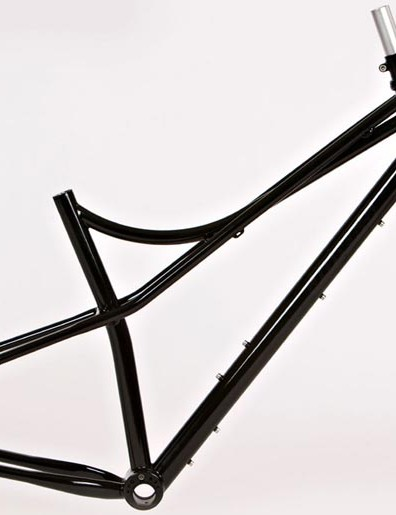 Jeff Jones steel Spaceframe and Truss fork