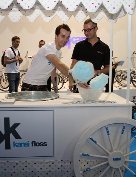 Kansi's 'Kansi Floss' stand