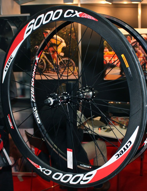 German wheel company Citec are already offering disc brake-compatible 'cross wheels with carbon tubular rims
