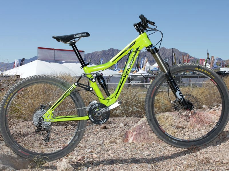 Knolly's 2011 Chilcotin all-mountain machine