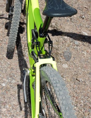 The all-mountain bike has room to fit a 2.7in rear tire