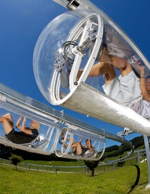Shweeb bike monorails could soon come to a city near you