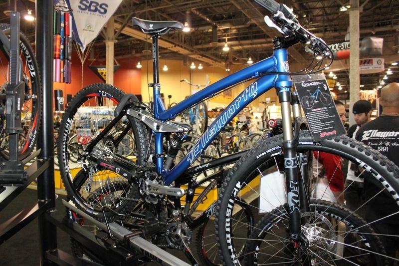 Ellsworth carbon fat bike fork rigid