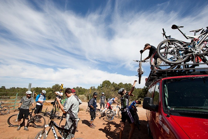 Shuttled rides in one a mountain biking mecca made for an exceptional experience
