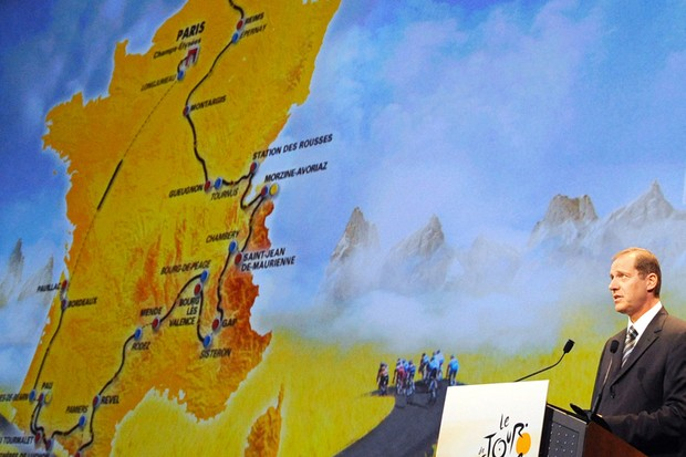 Details of the 2011 Tour de France route will be announced at the Palais des Congrès in Paris today