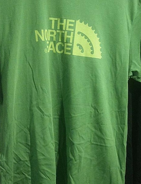 The North Face's new chainset inspired logo