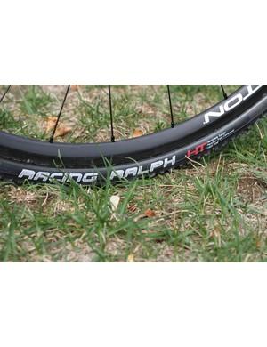 Schwalbe's Racing Ralph HT tubular cyclo-cross tire is ready to go this season