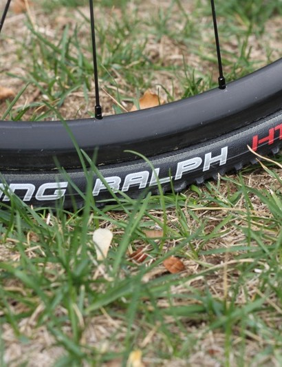 Schwalbe's Racing Ralph HT tubular cyclo-cross tire is ready to go this season