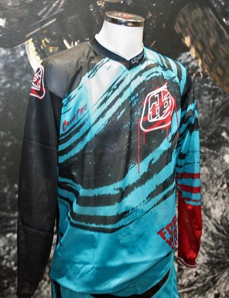 Troy Lee Designs GP Air Jersey (Nightmare Turquoise)