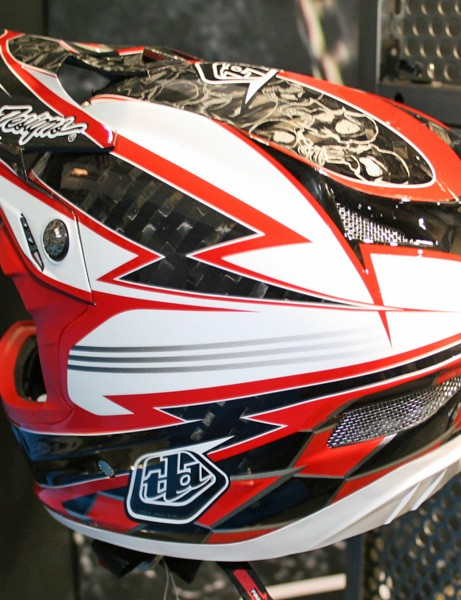 Troy Lee Designs D3 Hill Skulls helmet