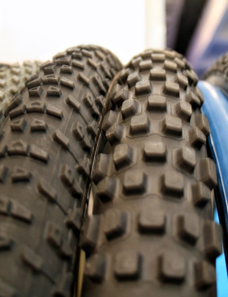 Tufo XC2, XC3 and XC4 (L-R, starting to right of grey tyre)