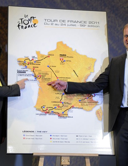 Christian Prudhomme presents the 2011 Tour de France