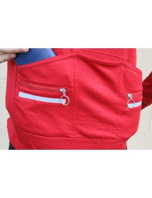 Torm T5 jersey rear pockets