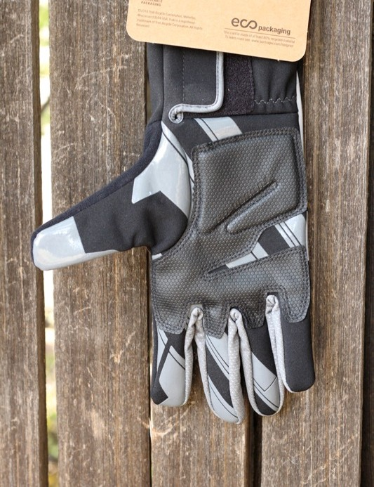 A look at the features of the Race Windshell glove's palm