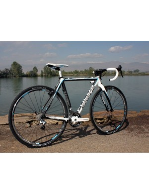 The Focus Mares CX 2 is built with a superb carbon fiber frame and a solid mid-range parts package.  It's race-ready out of the box but easily sheds big chunks of weight with a few key upgrades