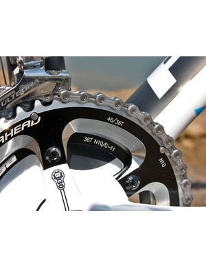 Focus equips the Mares CX 2 with picture-perfect 'cross gearing on the custom FSA Energy BB30 crankset