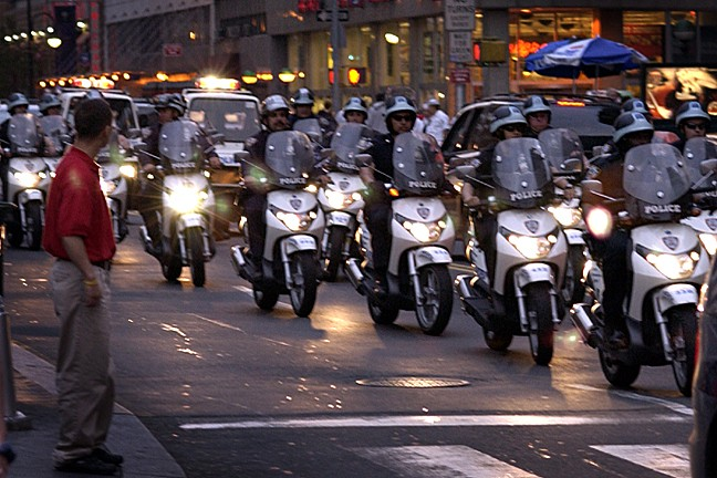 The NYPD have often clashed with Critical Mass riders