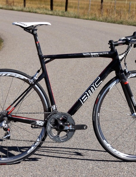 BMC's TeamMachine SLR01 remains unchanged for the 2011 season
