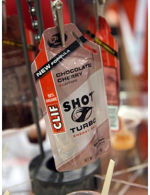 Clif Shot gel has a new maltodextrin and cane-juice-based formula that's less intensely sweet and thinner in consistency