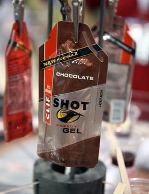 The new 'turbo' range of Clif Shot gel has a whopping 100mg of caffeine – roughly equal to a single shot of espresso
