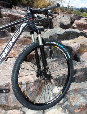 Other wheels may be lighter but few options can match the Mavic C29ssmax for stiffness