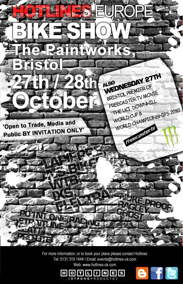 Hotlines bike show heading to Bristol