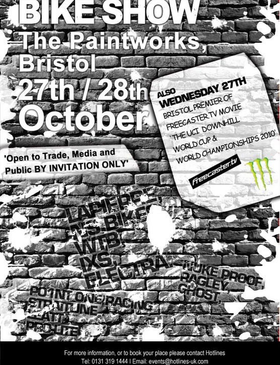 Hotlines bike show heading to Bristol