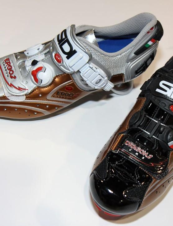 Copper is Sidi's hot color for 2011