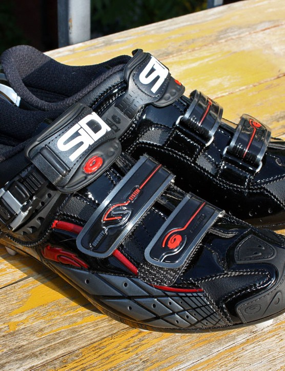 Sidi's new Spider SRS Lorica shoes are virtually ideal for the cooler - and messier - cyclo-cross season