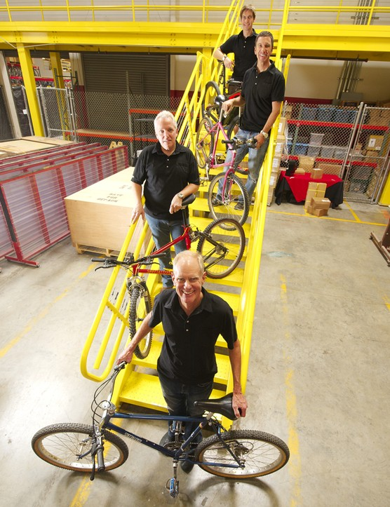 There's little sense of hierarchy at Specialized HQ and everyone is united by a shared love of bikes