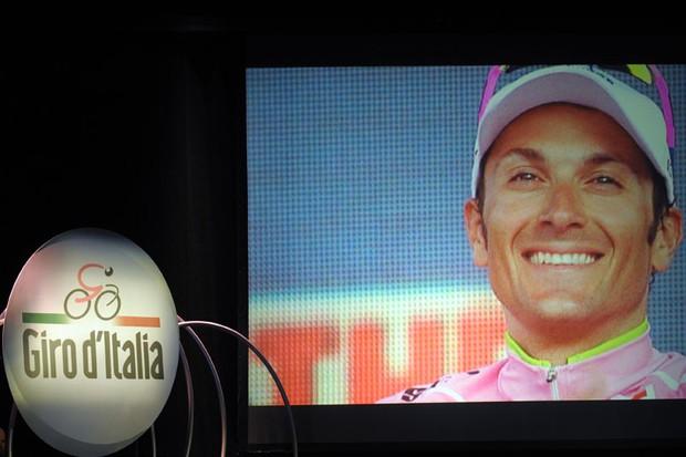 Ivan Basso, the 2010 Giro d'Italia champion