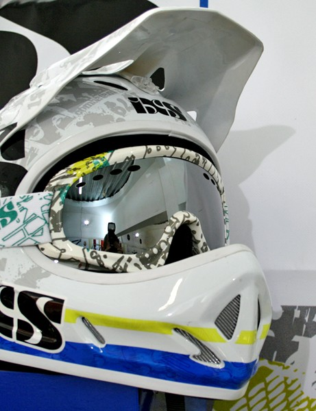 iXS Phobos Team Edition full-face helmet and Storm Evo goggle