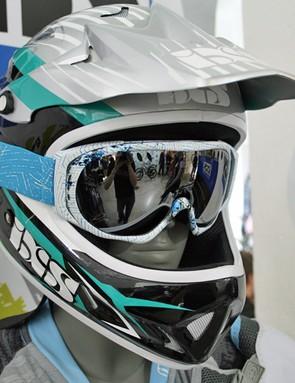 iXS Phobos Streamline helmet and Combat goggle