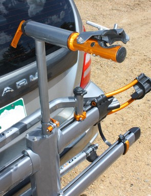 The built-in repair stand is a definite plus for quick fixes at the trailhead