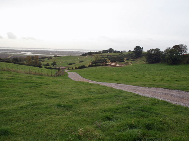 The venue – Salvation Army land at Hadleigh Farm