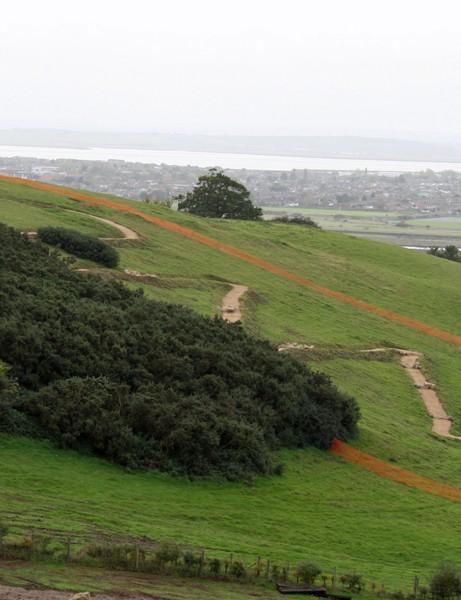 The zig-zag climb