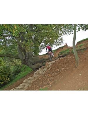 Maddie Horton tackles the drop