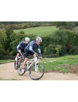 Billy-Joe Whenman and Paul Beales tackle the zig-zag climb