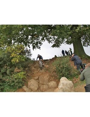 Billie-Joe Whenman tackles the 'oak tree drop'