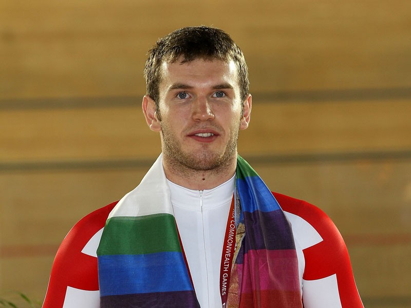 Sprinter David Daniell won a silver medal at this year's the Commonwealth Games