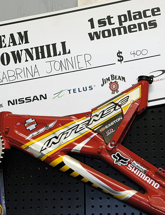 A 2002 M1 Team race bike, ridden by Chris Kovarik when he won at Fort William by a whopping 14 seconds