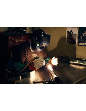 We dare you to tell the difference between Rick the welder's work and a machine's