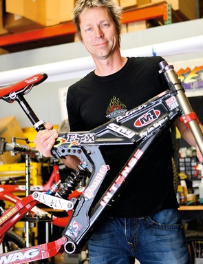 Jeff's partnership with Shaun Palmer helped put  Intense Cycles on the map