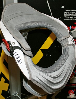 Leatt's bike-specific DBX neck braces are now available in a choice of colours, and parts can be changed to customise the look. This is the DBX Ride