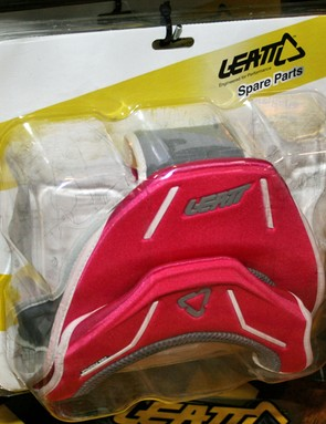 Leatt's bike-specific DBX neck braces are now available in a choice of colours, and parts can be changed to customise the look