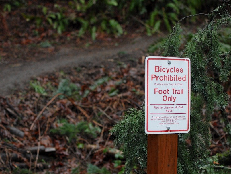 Forest Park offers very little single track to Portland's mountain bikers