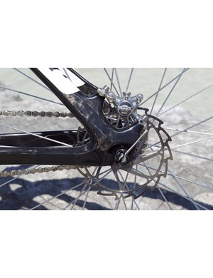 Ashima rotors complement the Formula brakes