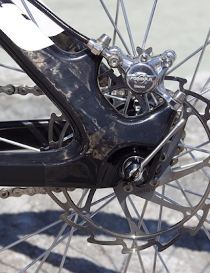 Ashima rotors complement the Formula brakes