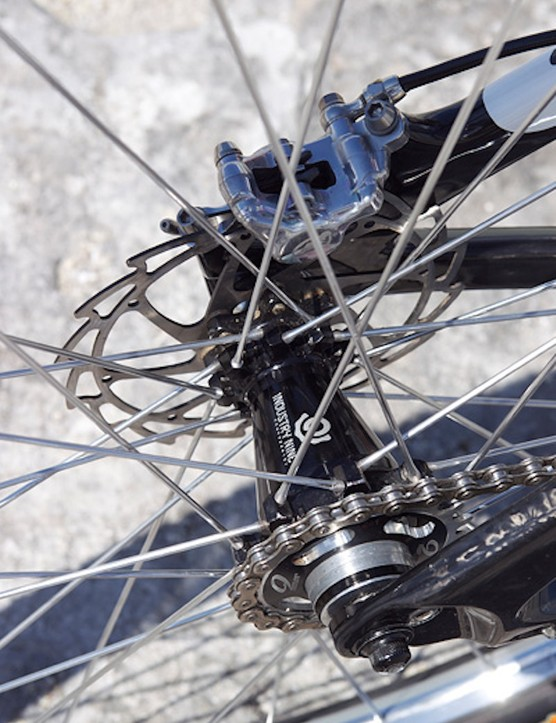 Industry Nine's singlespeed rear hub